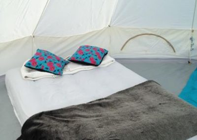 Bell tents furnished - Woolacombe