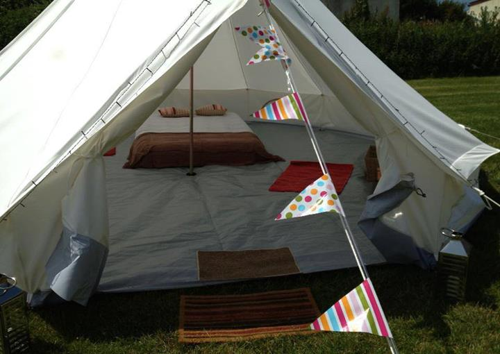 Ready Made Bell Tents At Little Roadway Farm Woolacombe