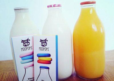Fresh milk woolacombe